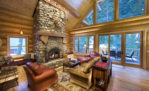 Bring the outdoors indoors by giving your home a rustic twist