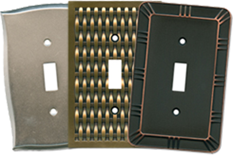 Brainerd Designs Light Switch Plates - Outlet Covers