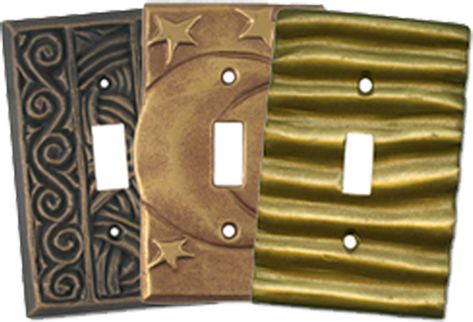 Celestial Elements Light Switch Plates - Outlet Covers