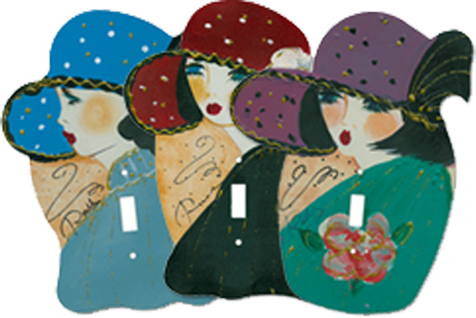Classy Ladies Light Switch Plates - Outlet Covers