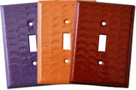 Colors In Motion Light Switch Plates - Outlet Covers