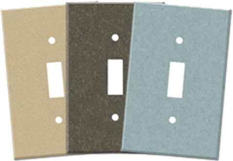 Corian Light Switch Plates - Outlet Covers