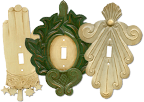 Fancy Chic Light Switch Plates - Outlet Covers