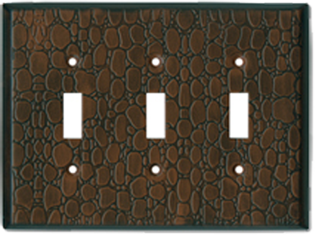 Faux Leather Light Switch Plates - Outlet Covers