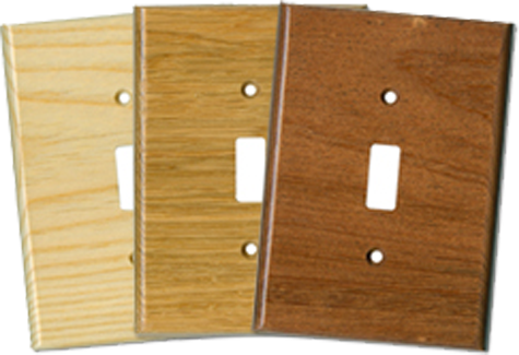 Hardwoods Light Switch Plates - Outlet Covers