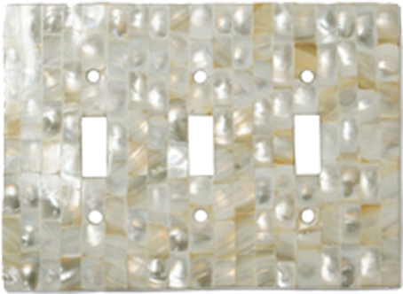 Mother of Pearl Outlet Covers - Light Switch Plates