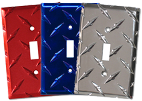 Muscle Car Shop Light Switch Plates - Outlet Covers