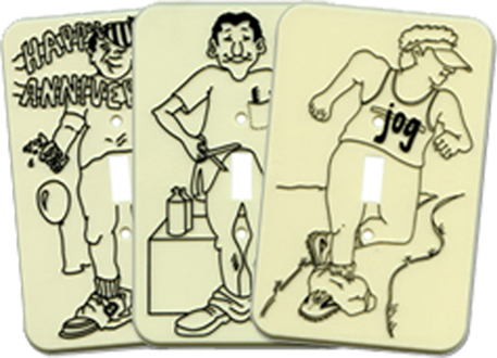 Perverted & Funny Light Switch Plates - Outlet Covers