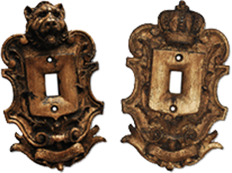 Renaissance Light Switch Plates - Outlet Covers