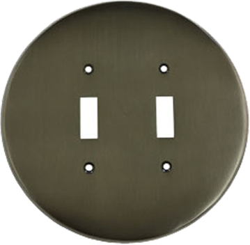 Round Light Switch Plates - Outlet Covers