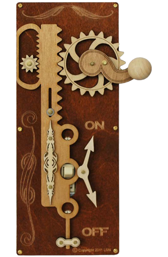 Steampunk Light Switch Plates - Outlet Covers