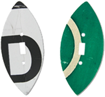 Street Sign Light Switch Plates - Outlet Covers