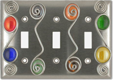 Wired & Jeweled Light Switch Plates - Outlet Covers