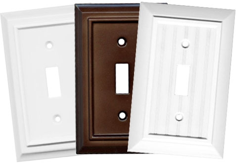 Architectural Light Switch Plates, Decorative Wall Switch Plates | Switch Hits