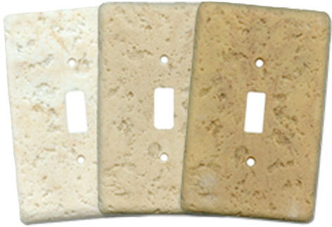 Stonique Light Switch Plates - Outlet Covers