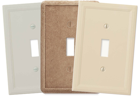 Traditional Light Switch Plates - Outlet Covers