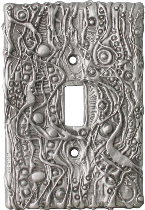 Abstract Oversize 1 Toggle Light Switch Cover