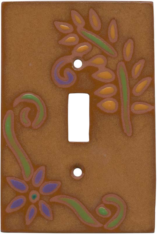 After the Desert Rain Single 1 Toggle Light Switch Plates