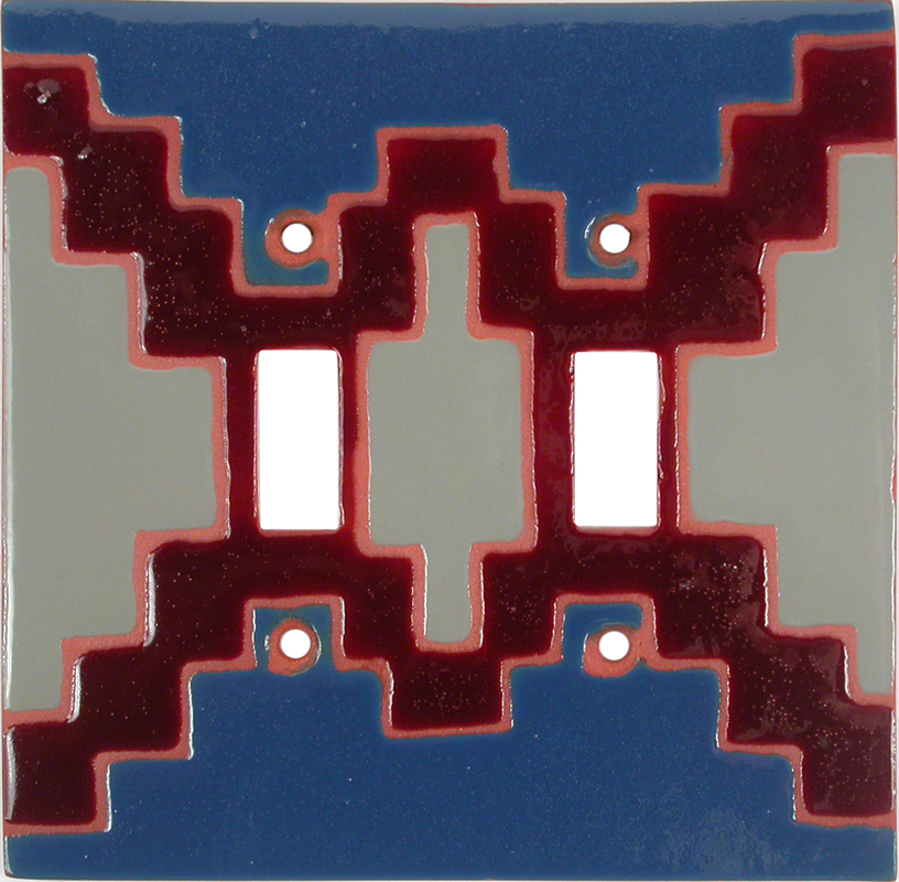 Blanket 73 - 2 Toggle Switch Plate Covers