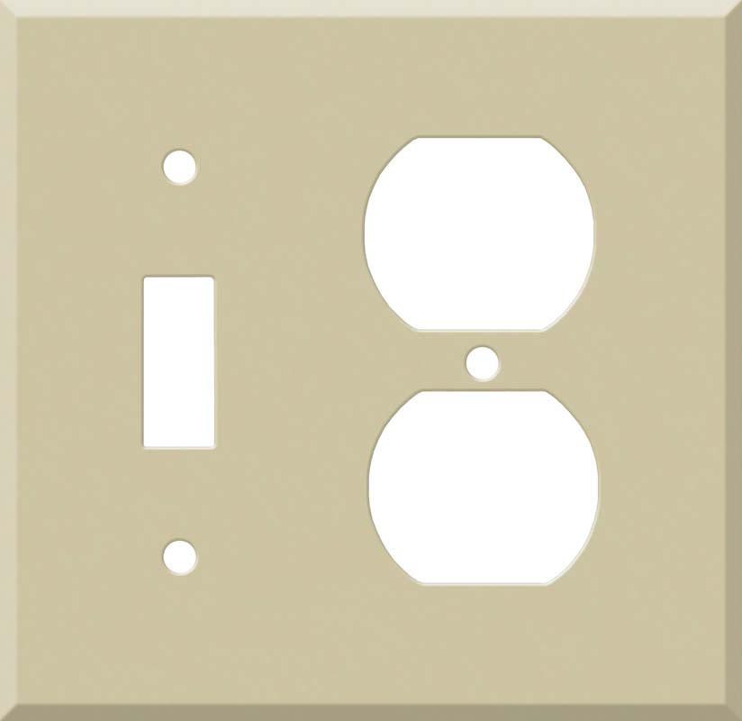Corian Sand Combination 1 Toggle / Outlet Cover Plates