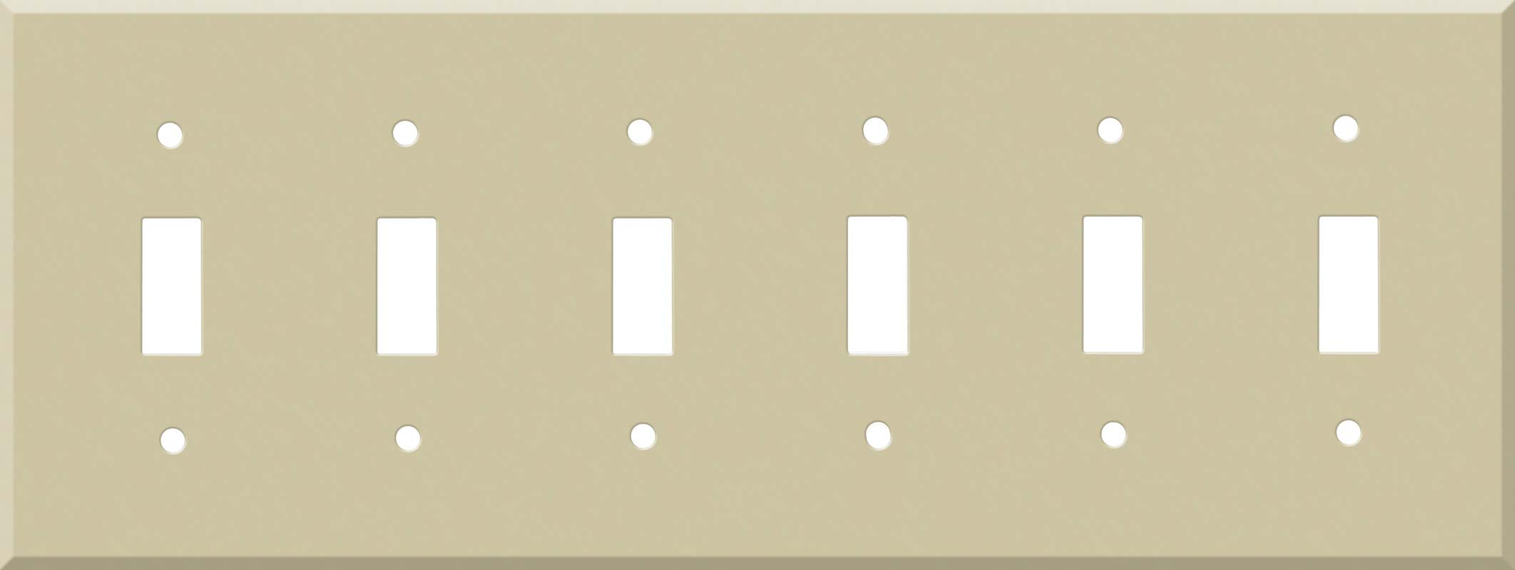 Corian Sand 6 Toggle Wall Plate Covers