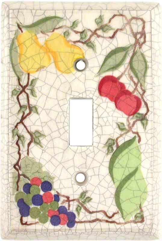 Crackle Fruit Ceramic