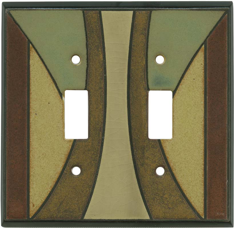 Details About Craftsman Ceramic Switch Plates Wall Outlet Covers