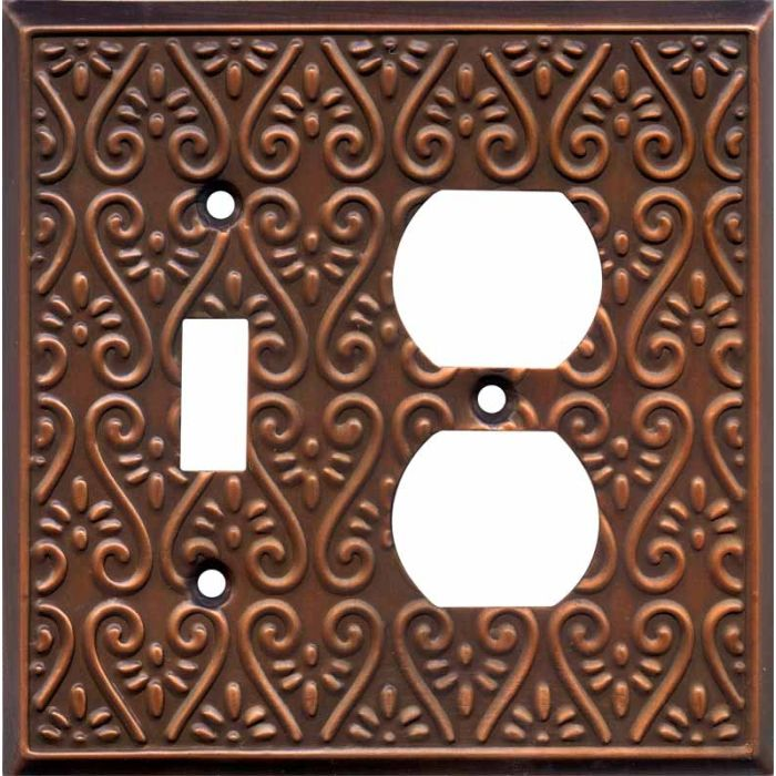 Filigree Antique Copper
