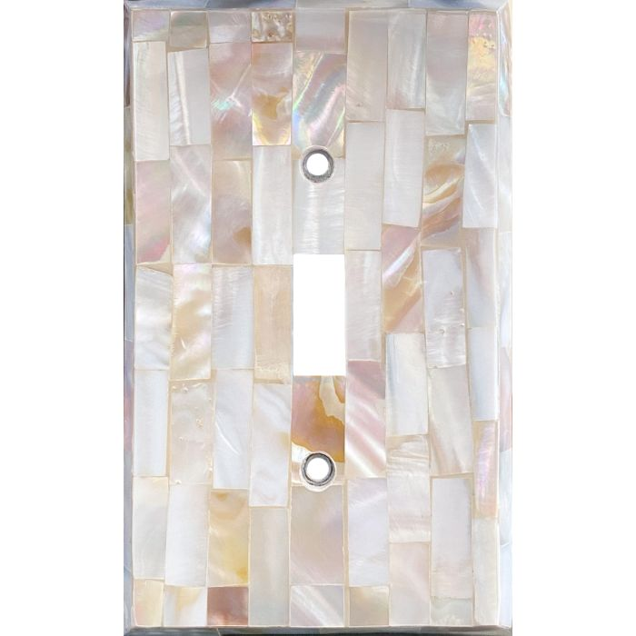 Beveled Edge Mother of Pearl - 1 Toggle