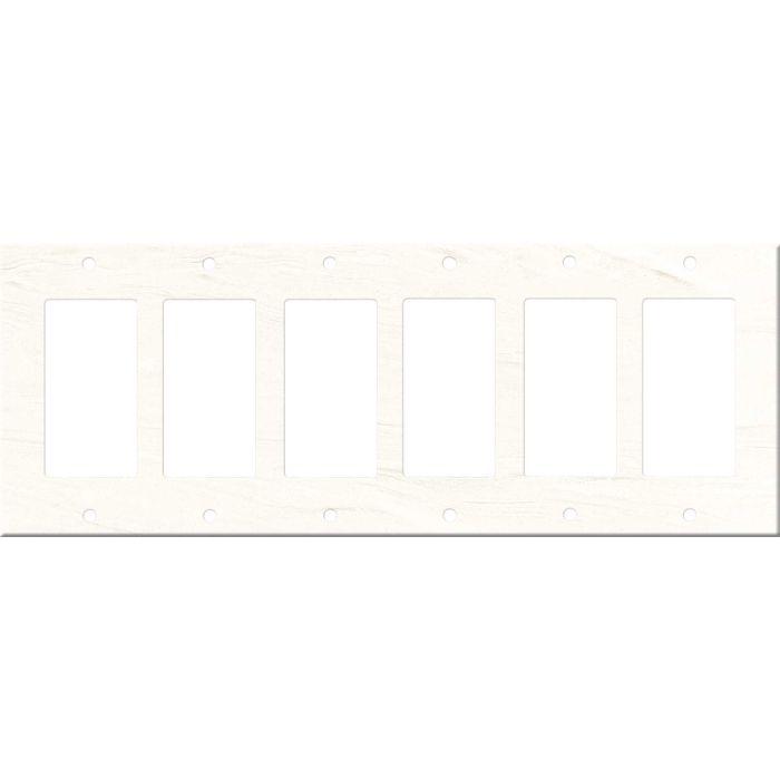 Corian Cirrus White - 6 GFI Rocker Decora