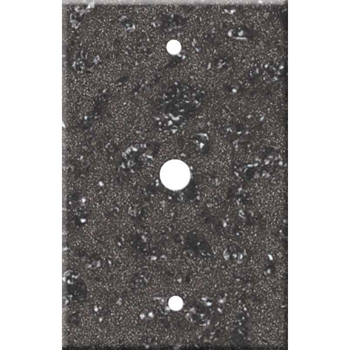 Corian Graylite Coax Cable TV Wall Plates