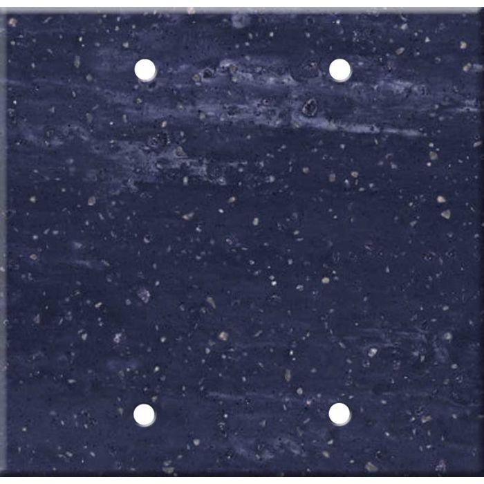 Corian Elderberry Double Blank Wallplate Covers