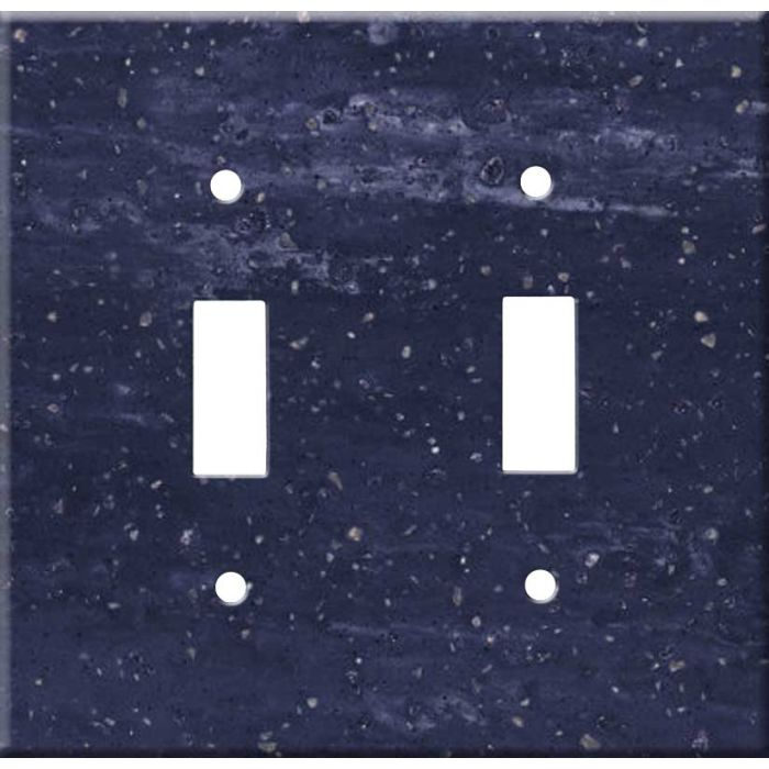 Corian Elderberry Double 2 Toggle Switch Plate Covers