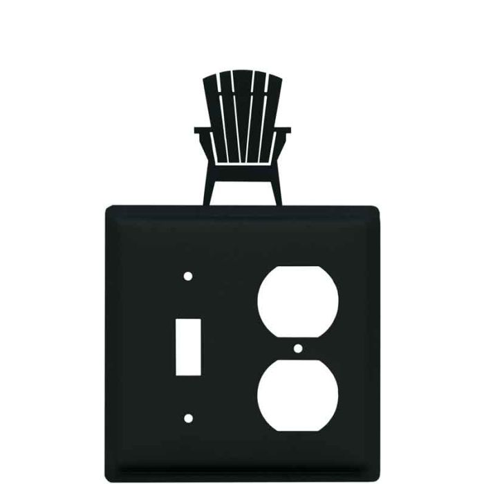 Adirondack Chair Combination 1 Toggle / Outlet Cover Plates