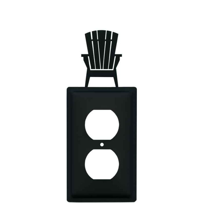 Adirondack Chair 1 Gang Duplex Outlet Cover Wall Plate