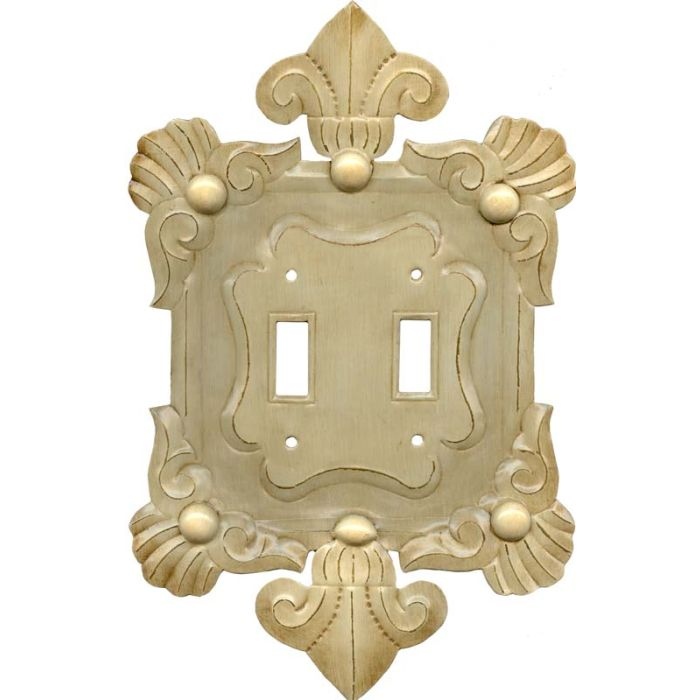 Alemania Double 2 Toggle Switch Plate Covers
