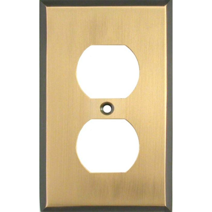 Antique Brass with Black Border - Outlet Covers