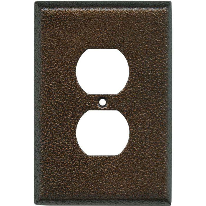 Antique Copper Texture - Outlet Covers