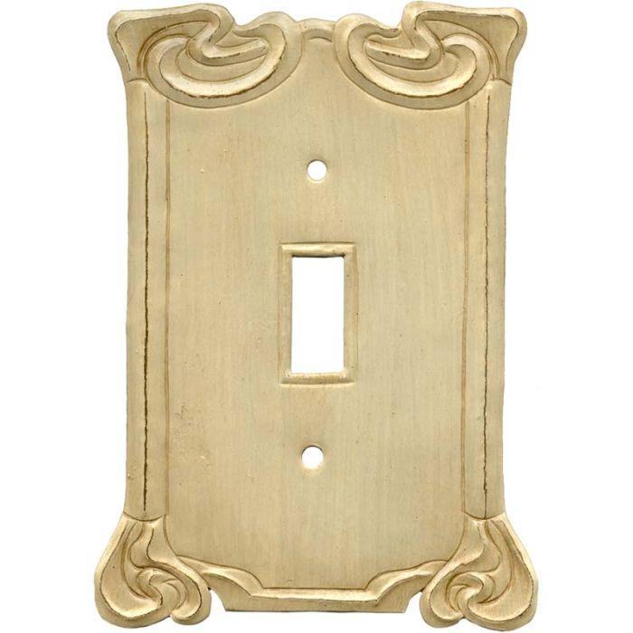 Arabesque Scroll Single 1 Toggle Light Switch Plates