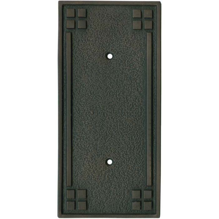 Arts and Crafts Crest 2-Toggle / 1-Duplex Outlet - Combination Wall Plates