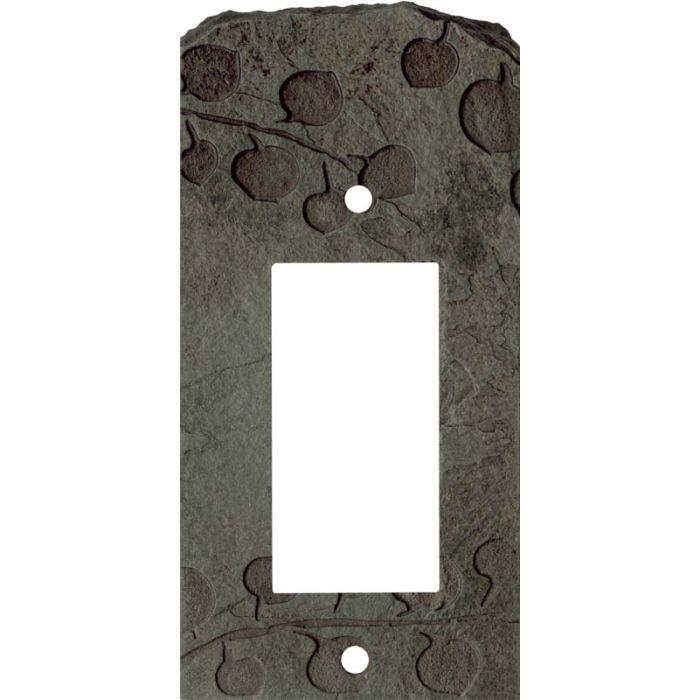 Aspen Petra Single 1 Gang GFCI Rocker Decora Switch Plate Cover