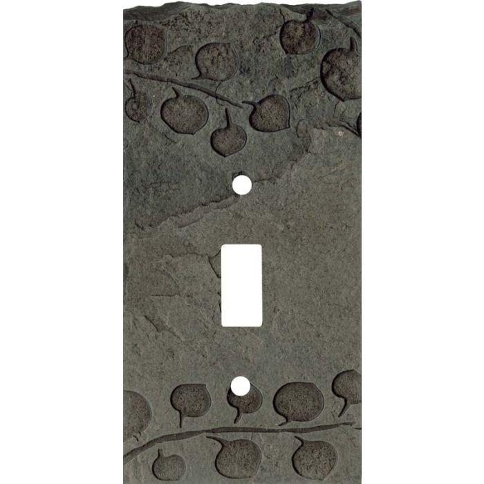 Aspen Petra Single 1 Toggle Light Switch Plates