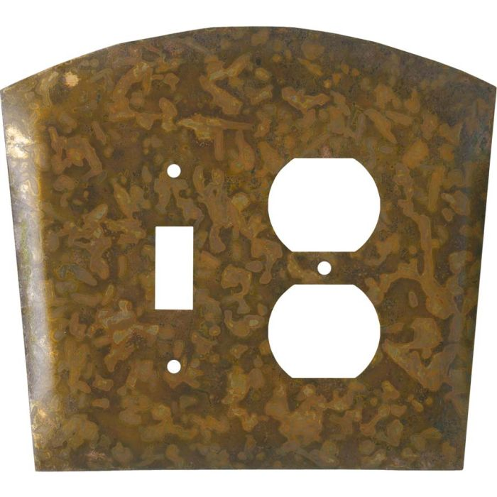 Autumn Copper Combination 1 Toggle / Outlet Cover Plates