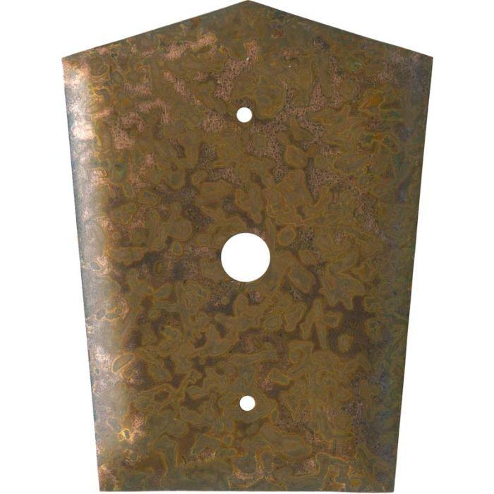Autumn Copper Coax Cable TV Wall Plates