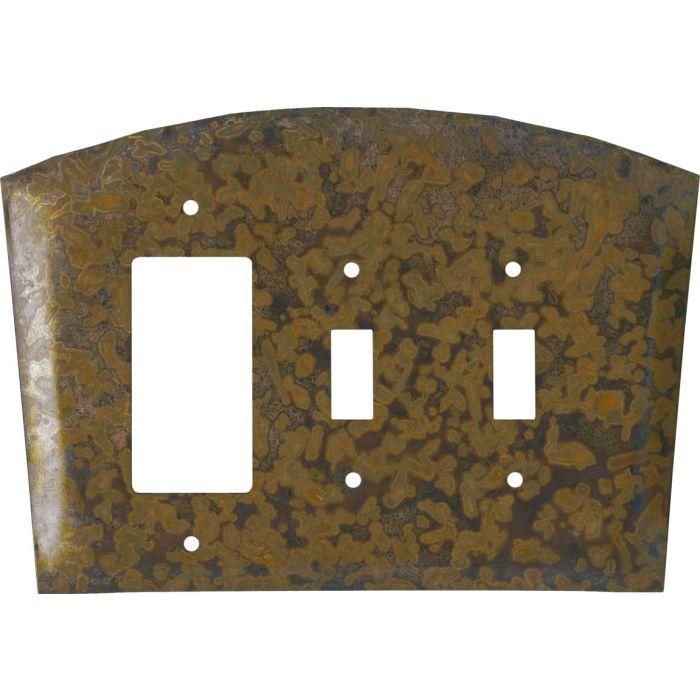 Autumn Copper 1-Gang GFCI Decorator Rocker Switch Plate Cover