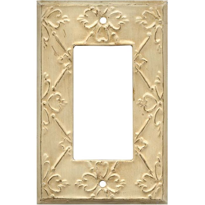 Baroque1-Gang GFCI Decorator Rocker Switch Plate Cover