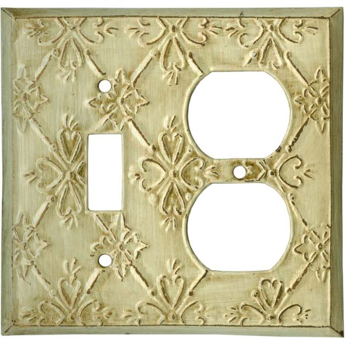 Baroque Combination 1 Toggle / Outlet Cover Plates