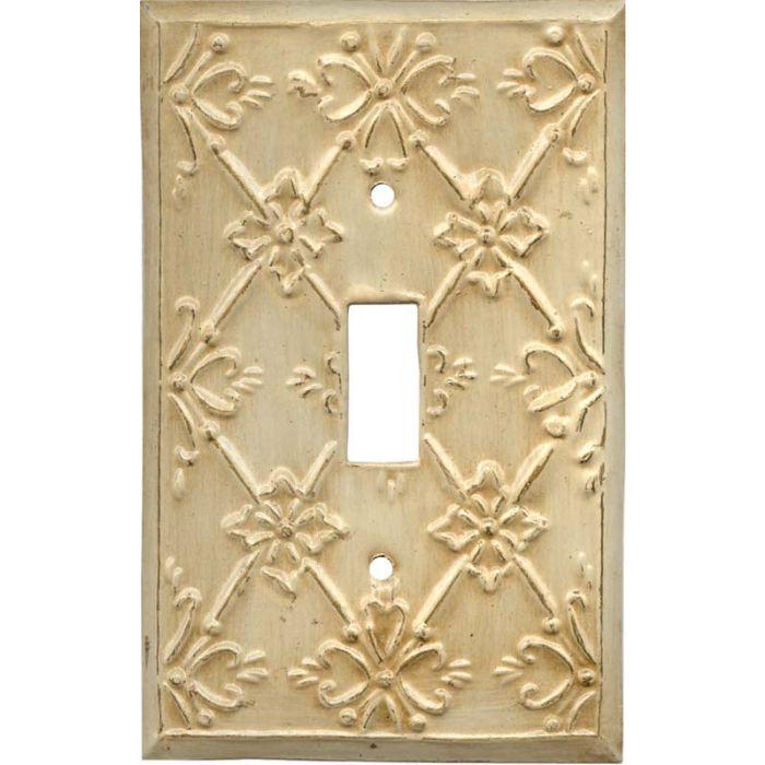 Baroque Single 1 Toggle Light Switch Plates