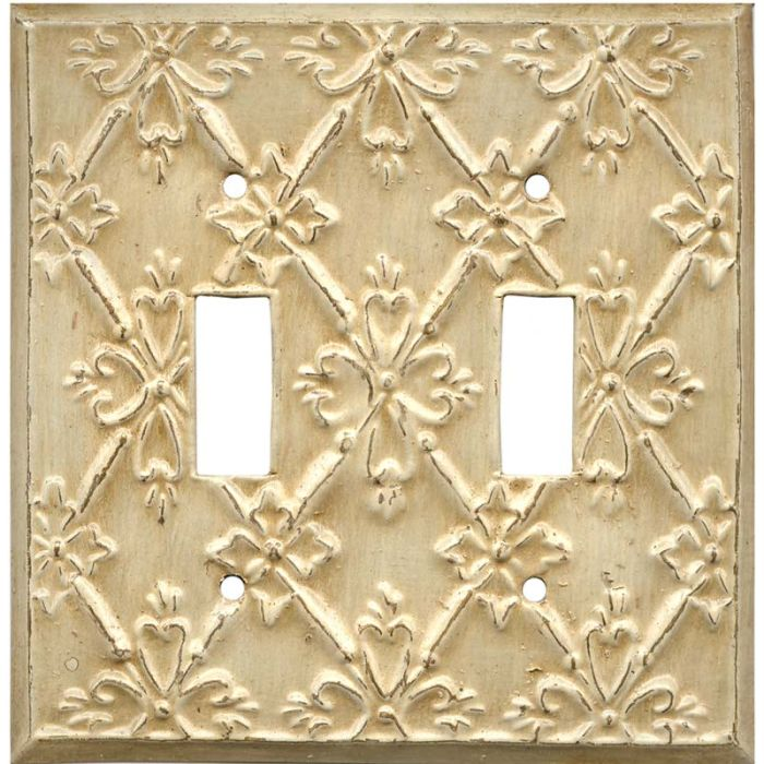 Baroque2 Toggle Switch Plates