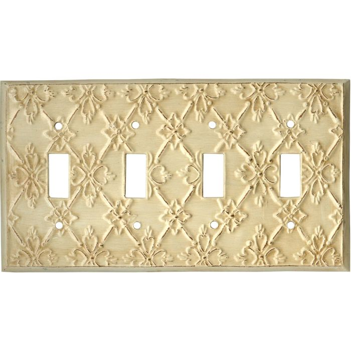 Baroque4 - Toggle Light Switch Covers & Wall Plates